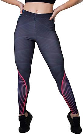 Kaisan Calça Feminina Legging Sublimada Curved Lines