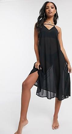 Unique21 Unique 21 Halter Swing Dress-Black