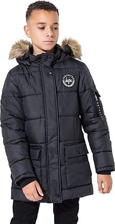 Hype Explorer Kids Parka Jacket - Black
