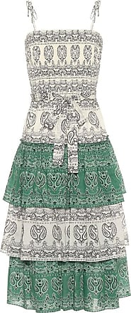 Tory Burch Paisley cotton poplin midi dress