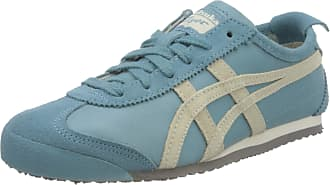 Onitsuka Tiger Womens Mexico 66 Low-Top Sneakers, Blue (Blue 1183a051-400), 3.5 UK