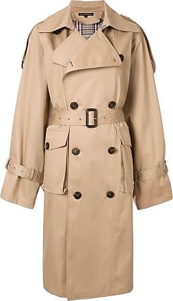 Blindness Trench coat oversized - Marrom