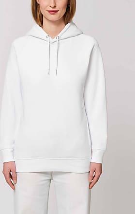Made in Bio Sweat à capuche coton bio femme blanc XXL - Cauipe