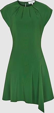 Reiss Belle - Capped Sleeve Dress in Green, Womens, Size 14