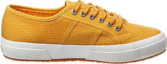 Superga Unisex Adults 2750-cotu Classic Gymnastics Shoes, Yellow (Yellow Golden W8u), 12.5 UK