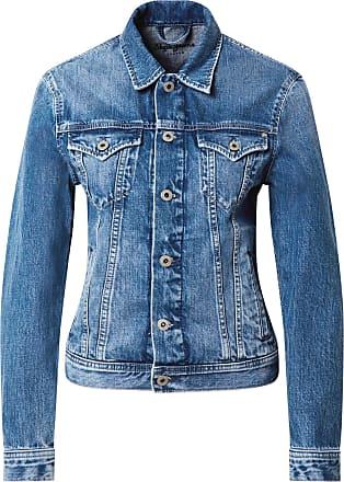 Pepe Jeans London Veste mi-saison Rose bleu denim