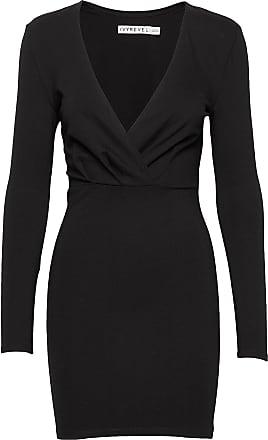 IvyRevel Slim Fit Mini Dress Kort Klänning Svart Ivyrevel