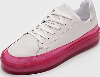 Fiever Tênis Fiever Sola Translúcida Branco/Rosa