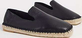 Whistles cannon square toe espadrilles in black