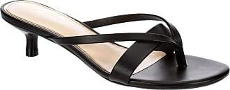 Xappeal Womens Avita - Low Heel Slip On Sandal Dress Shoe Black Size: 9 UK