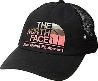 fc2b112b The North Face Low Pro Trucker Hat (TNF Black/Spiced Coral Multi) Baseball
