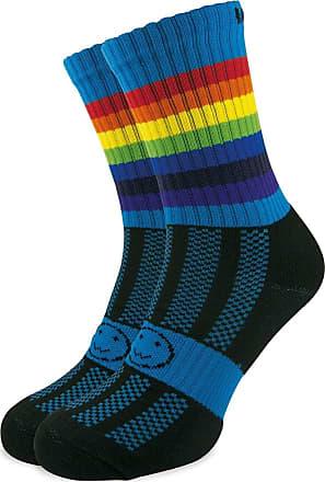 Wackysox Wackysox Calf Length Sports Socks - Rainbow