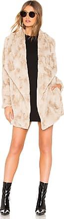 BB Dakota JACK by BB Dakota Warm Thoughts Faux Fur Jacket in Beige