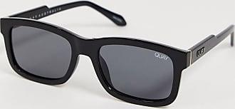 Quay Quay Beatnix Square Sunglasses-Black
