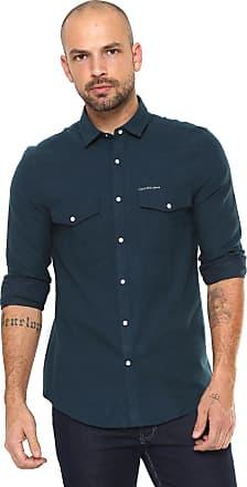 Calvin Klein Jeans Camisa Calvin Klein Jeans Slim Fit Azul