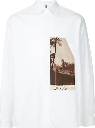 OAMC palm tree shirt - Branco