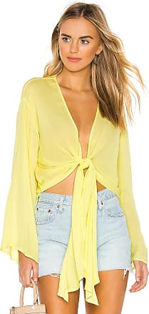 Young Fabulous & Broke Free Fall Top in Yellow