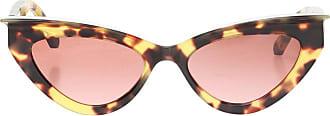 Philipp Plein Statement Sunglasses Womens Brown