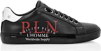Philipp Plein Mens Sneakers Low Top Lace up Black Size 44 EU