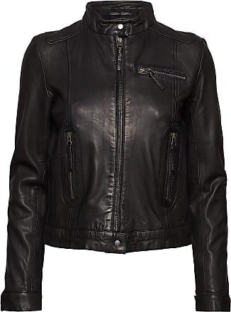 MDK Karla Leather Jacket Läderjacka Skinnjacka Svart MDK / Munderingskompagniet