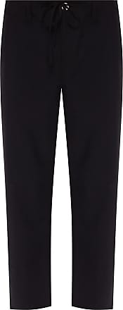 Lanvin Wool Trousers Mens Black
