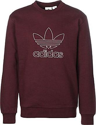 adidas Originals Herren Pullover Outline Crew rot XL 1e1e27c0ca