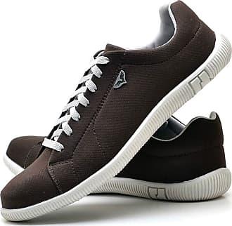 Juilli Sapatênis Sapato Casual Com Cadarço Masculino JUILLI 900DB Tamanho:39;cor:Marrom;gênero:Masculino