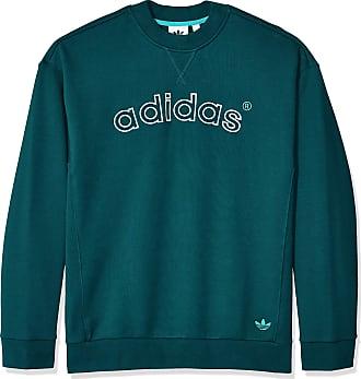adidas Originals Mens Archive Sweat Crew Sweatshirt, Ricgrn, Large