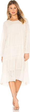 Free People Gemma Midi Dress in Cream