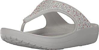 747ebae8969b Crocs Womens Sloane Embellished Flip Flop