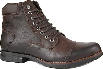 Freeway Bota Coturno Freeway Soldier 3243 Couro