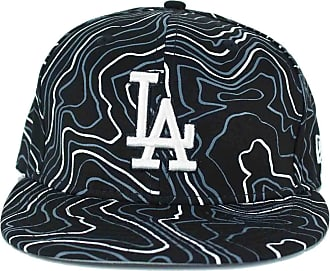 New Era Fitted Caps, MLB 59Fifty, LA Dodgers, Contour Crown, Black (7 1/4)