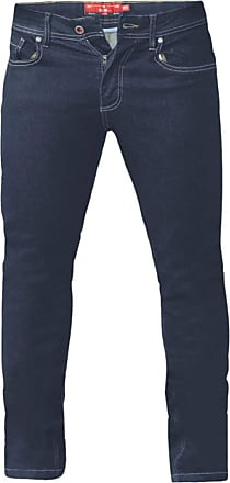 Duke London D555 Cedric Tapered Fit Stretch Jeans|Blue|54 Waist 32 Leg