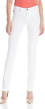 AG - Adriano Goldschmied Womens Harper Straight Leg Jean - White - 29