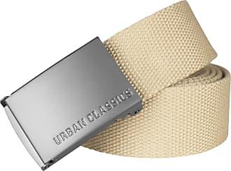 Urban Classics Gürtel Canvas Belt, beige, One Size