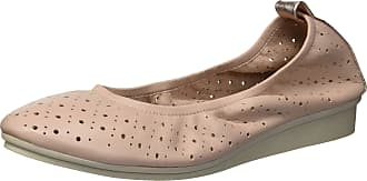 Aerosoles Womens Wooster LEATHER-10.5 M US Ballet Flat, Lt Pink Leather, 10.5