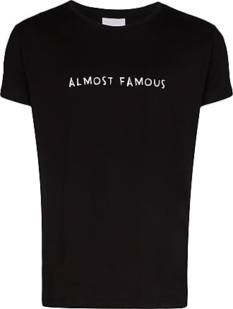 Nasaseasons Camiseta Almost Famous com bordado - Preto