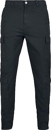 Urban Classics Tapered Double Cargo Pants - Cargohose - schwarz