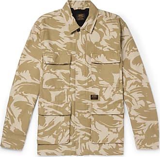 Carhartt Work in Progress Balfour Camouflage-print Cotton-canvas Field Jacket - Neutral