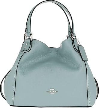 54ddb5329 Coach Tote - Polished Leather Edie 28 Shoulder Bag Sage - blue - Tote for  ladies