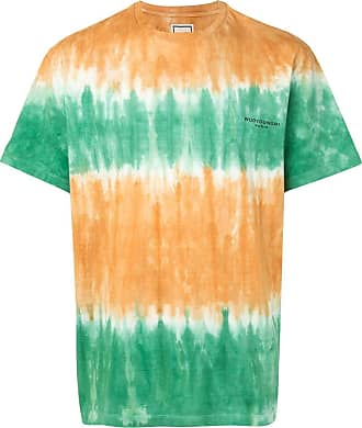 Wooyoungmi Camiseta com estampa tie-dye - Laranja