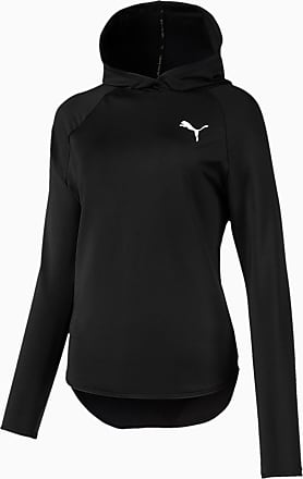 Puma Womens Active Hoodie, Black, size X Large, Clothing