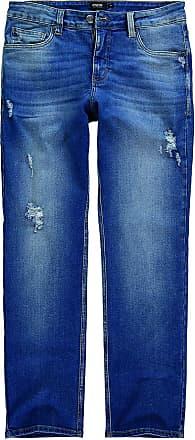 Enfim Calça Slim, Enfim, Masculina, Azul Escuro, 42