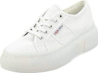 Superga Womens 2287-cotw Gymnastics Shoes, White (White 901), 3.5 UK