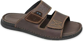 Valleverde 20830-TMORO Mens Slippers Brown Leather Slippers Brown Size: 10 UK