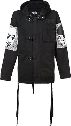 Haculla Theyre Here parka coat - Black