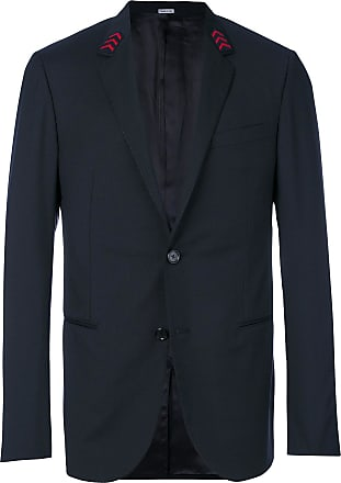 Lanvin embroidered arrow collar blazer - Black