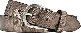 fb6a1df95bcb90 Vanzetti Damen Leder Gürtel Vollrindleder Metallicfinish Damengürtel  taupe-copper 30 mm Ledergürtel (90 cm