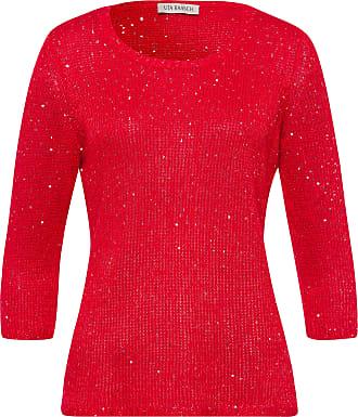 Uta Raasch Round neck jumper 3/4-length sleeves Uta Raasch red