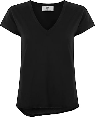 Andrea Bogosian T-shirt gola V - Preto